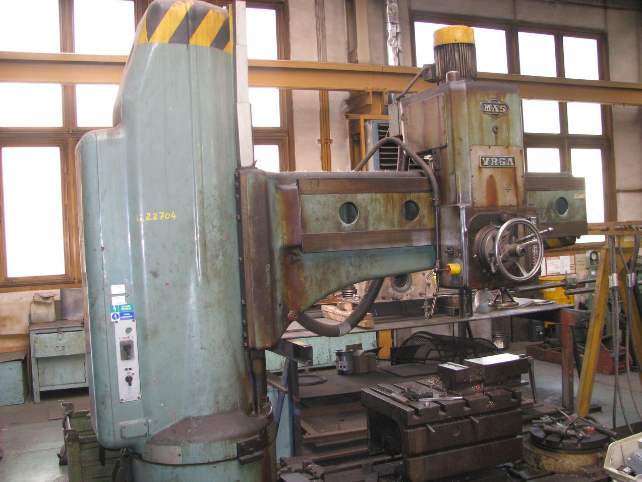 006. Radial drill VR6A