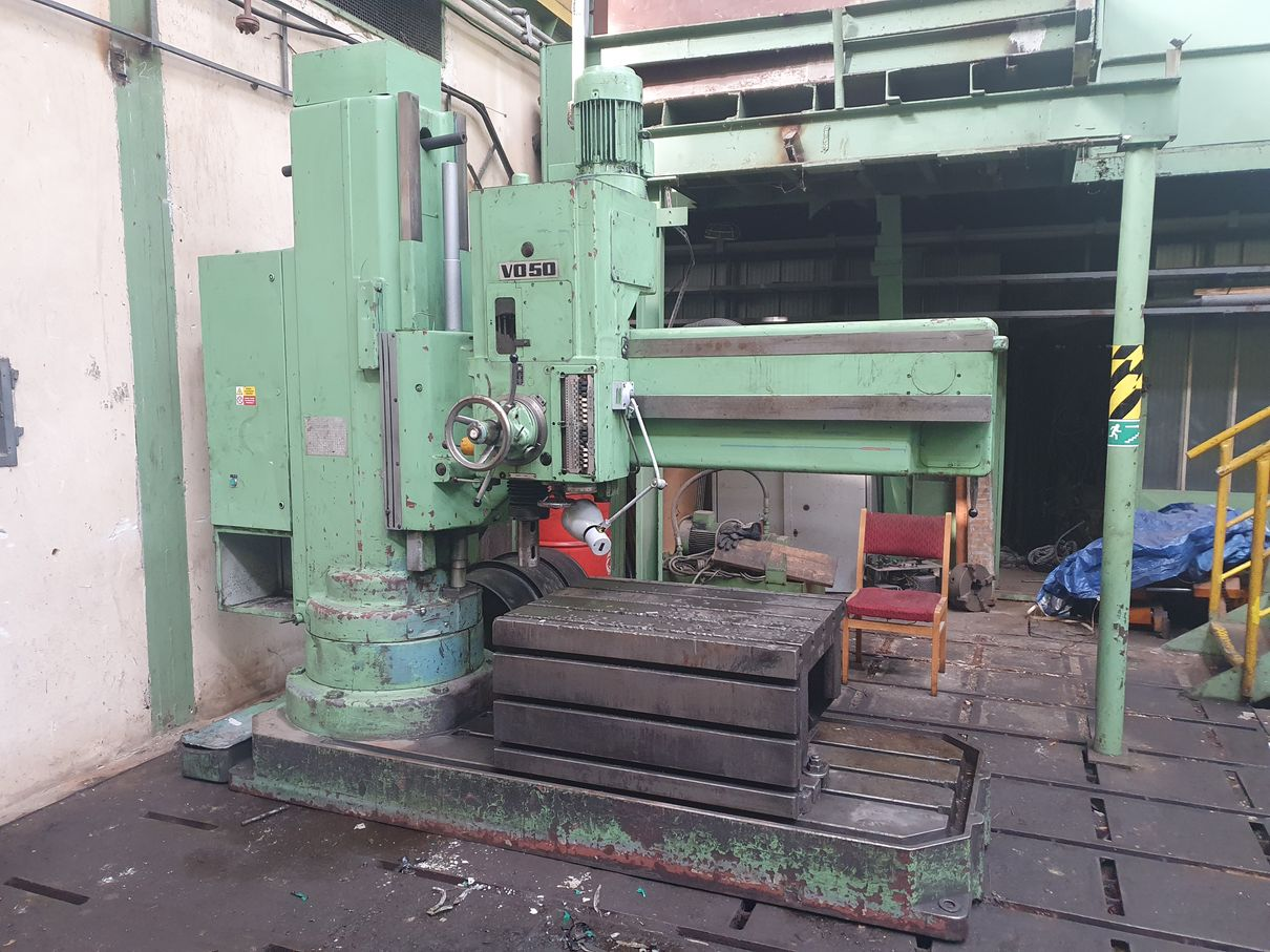 003. Radial drill VO50/1600 P1